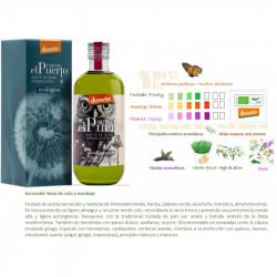 Picual. Organic EVOO. Glass...